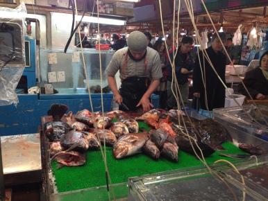 The Tsukiji Market (築地市場 ) - Tokyo