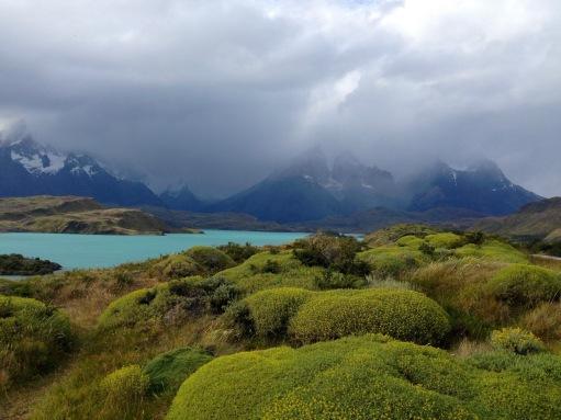 Lake Nordenskjold in Torres del Paine National Park