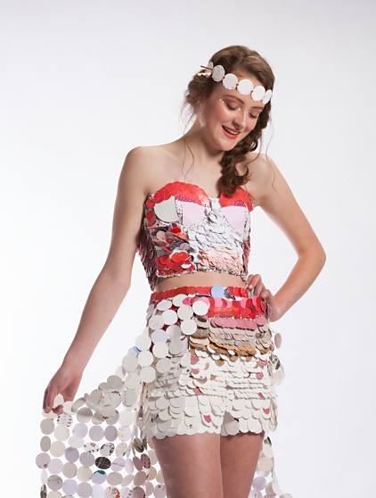 Recycled Runway 2017 Design by Presley Church