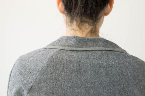 Collar Detail Wool Jacket*