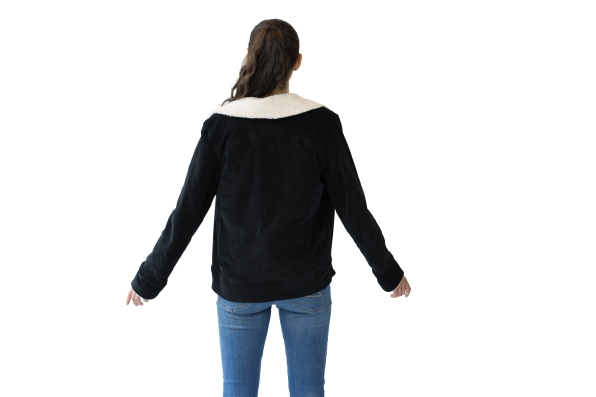 Edited Back View Cord Jacket