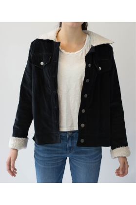 Edited Rolled Up Sleeve View Cord Jacket-226